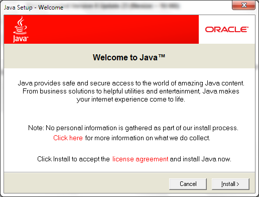 Java Runtime Environment (JRE) | Download BG